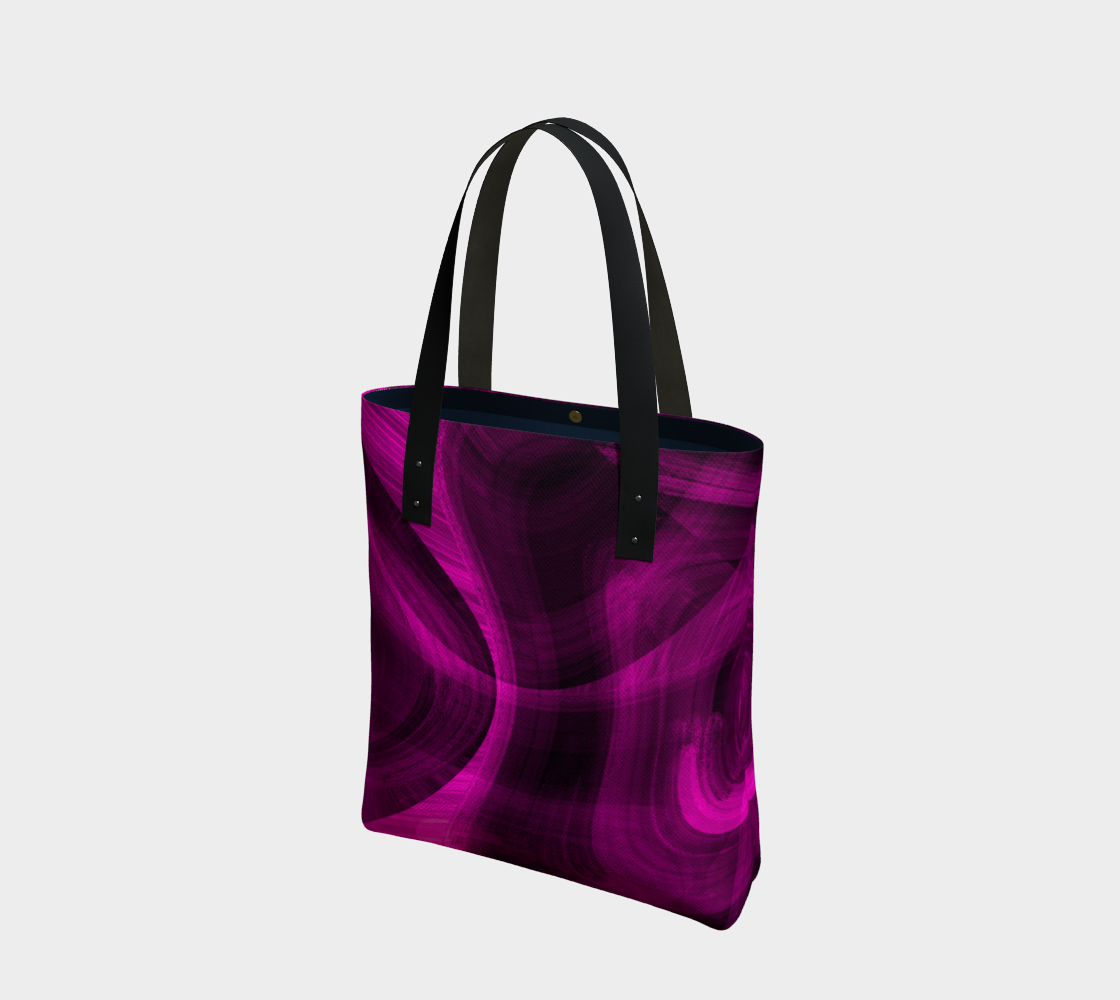 Pinkish Black Hole Tote Bag preview