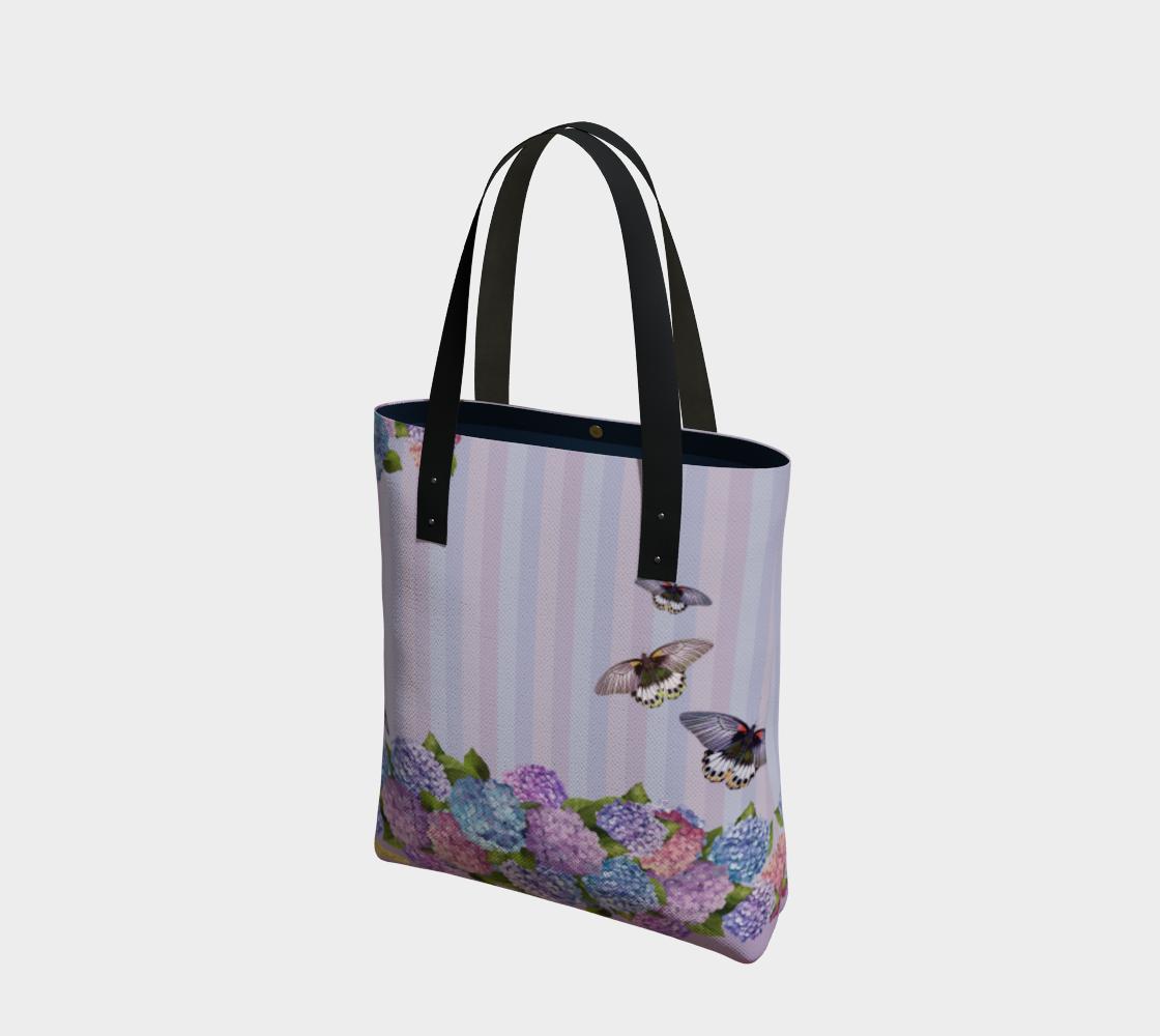 Hydrangea Tote Bag preview