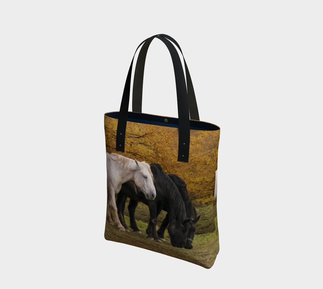 Horses in Fall preview