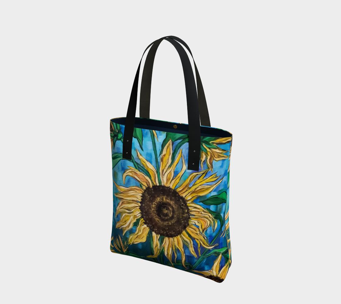 Aperçu de Summer Sunflowers Tote Bag