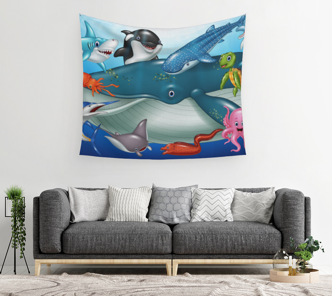 Big Whale and their friends fish preview #2