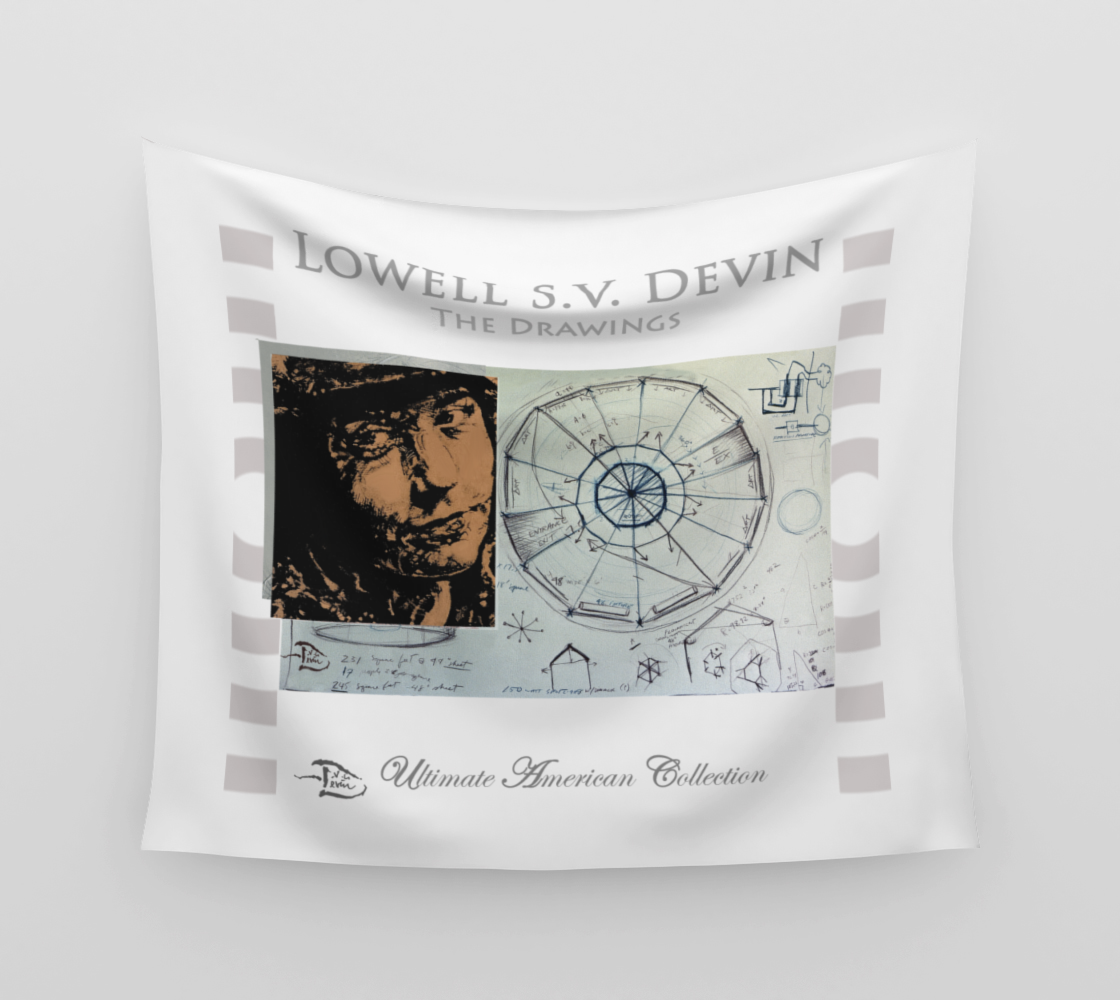 The Drawings  /  Official Devin Wall Flag Art preview