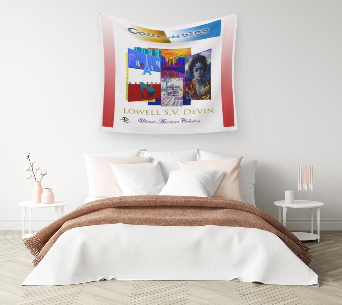 Aperçu de Collectibles   /  Official Devin Pin-Up Room Flag #1