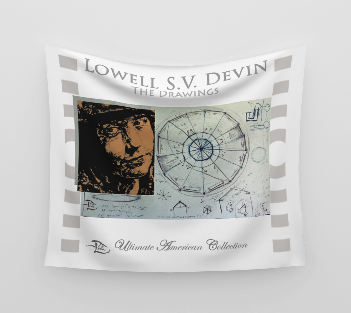 Lowell SV Devin The Drawings  /  Official Devin Wall Flag Art preview #3