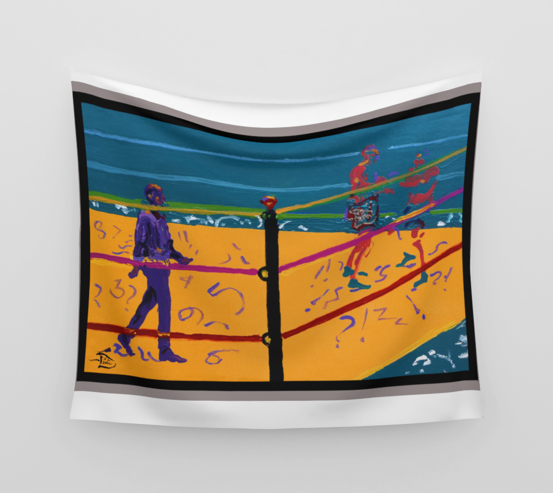 Final Round  / Official Devin Wall Flag Art preview