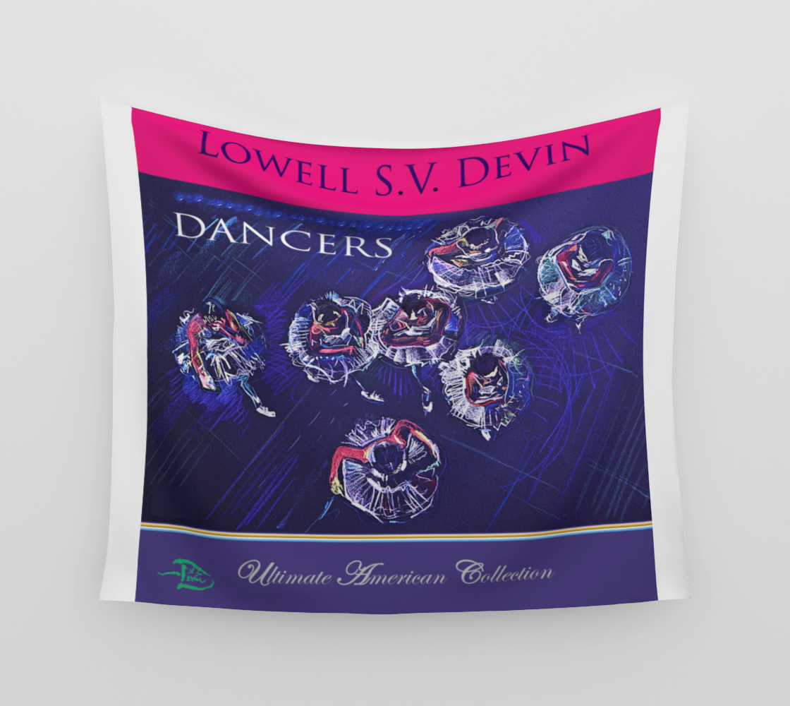 The Dancers  /  Official Devin Pin-Up Room Flag preview