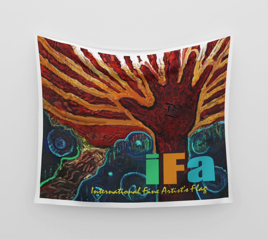 Int'l Fine Artist's Flag  /  Devin Wall Art Easy Pin-Up Flag preview