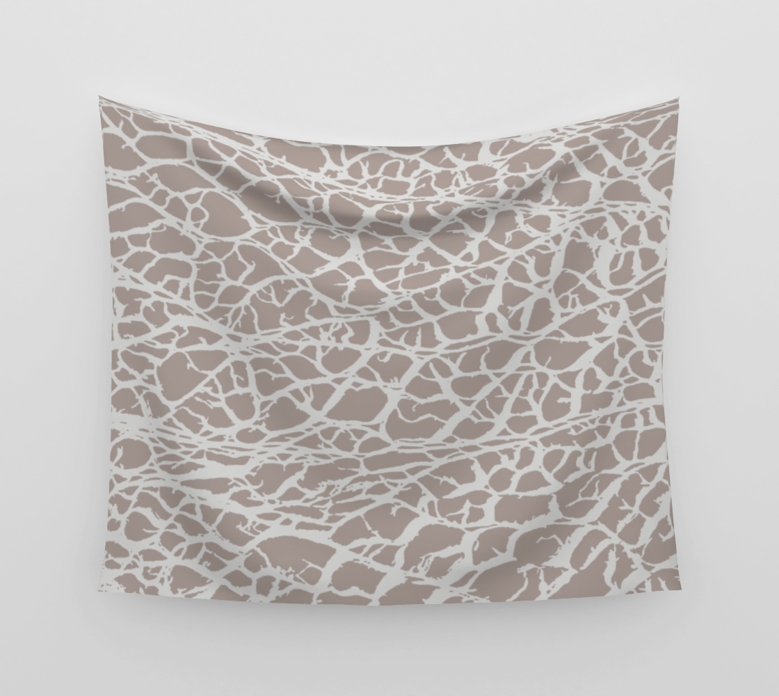 Desert Frost Wall Tapestry preview