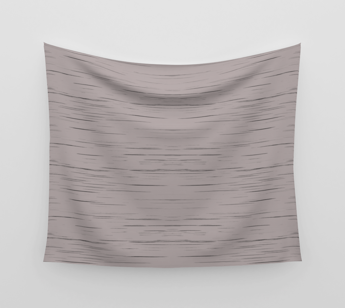 Meteor Stripes - Taupe Wall Tapestry preview
