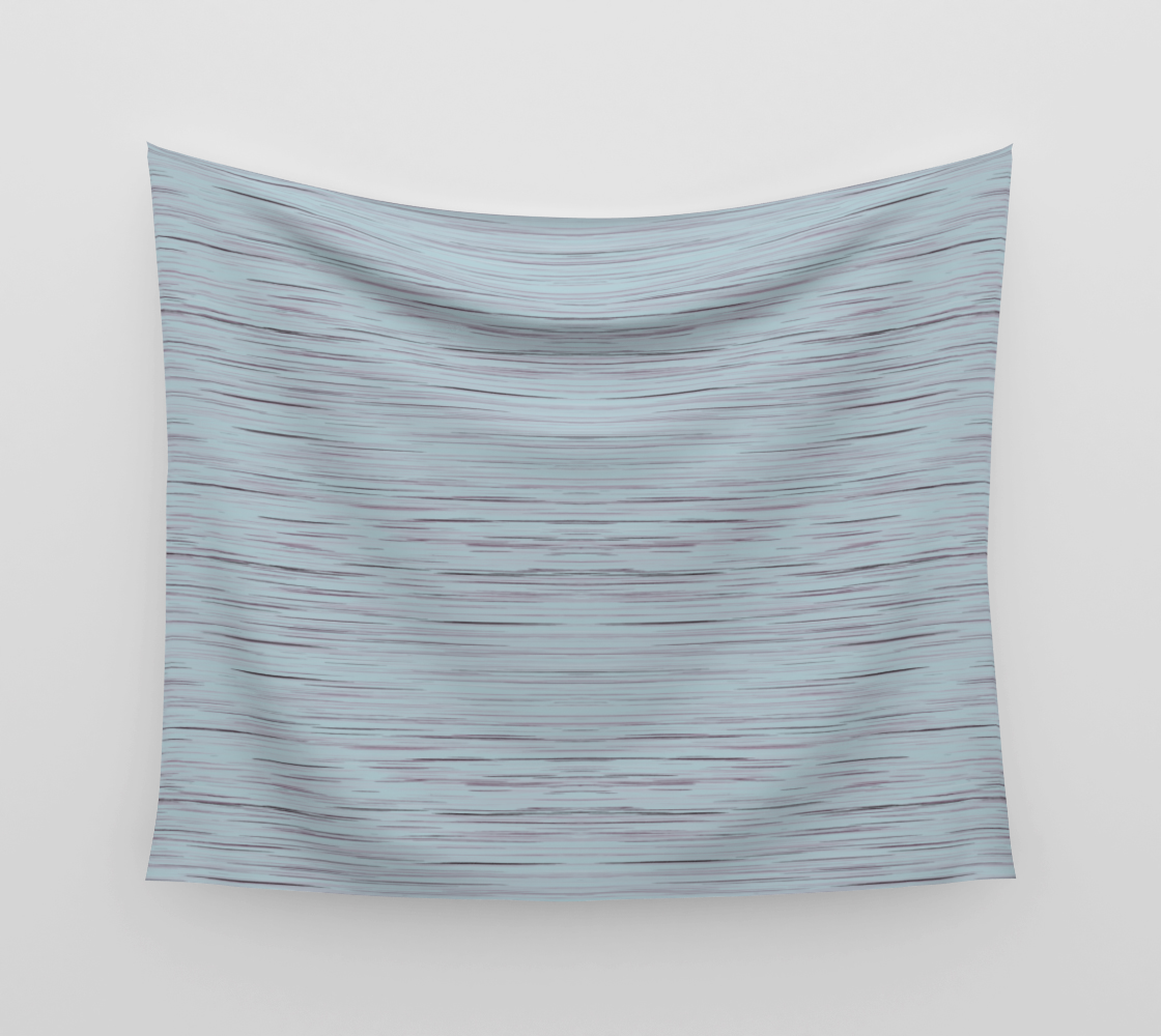 Meteor Stripes - Light Blue Wall Tapestry preview