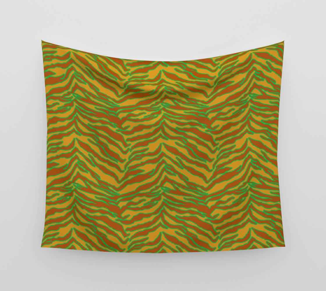 Tiger Print - Safari Wall Tapestry preview