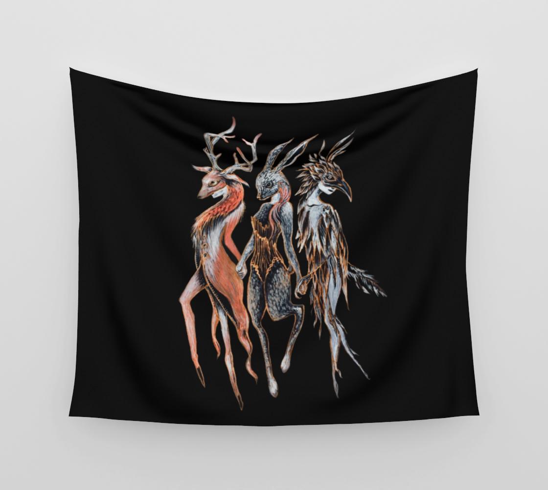Masquerade Horizontal Tapestry aperçu