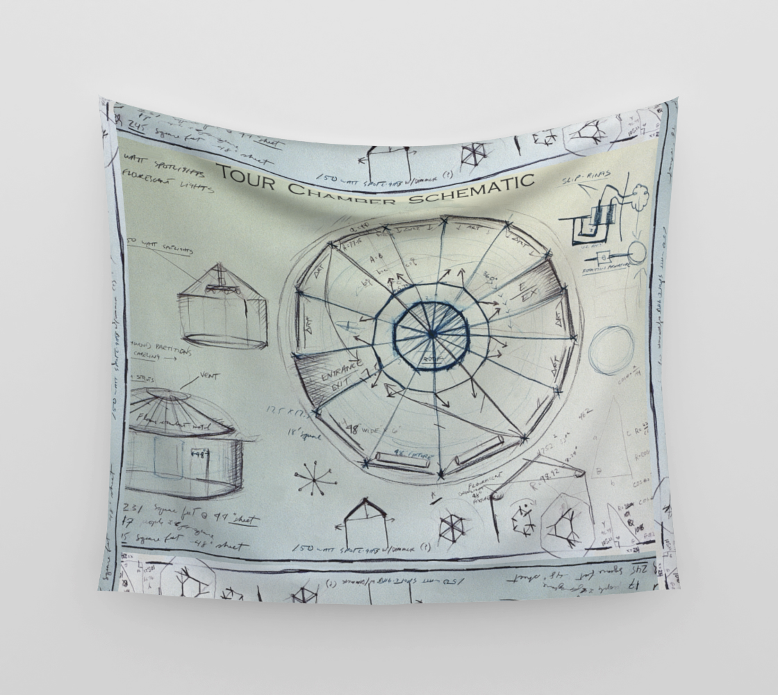 Tour Chamber Schematic / Official Devin Pin-Up Room Flag preview