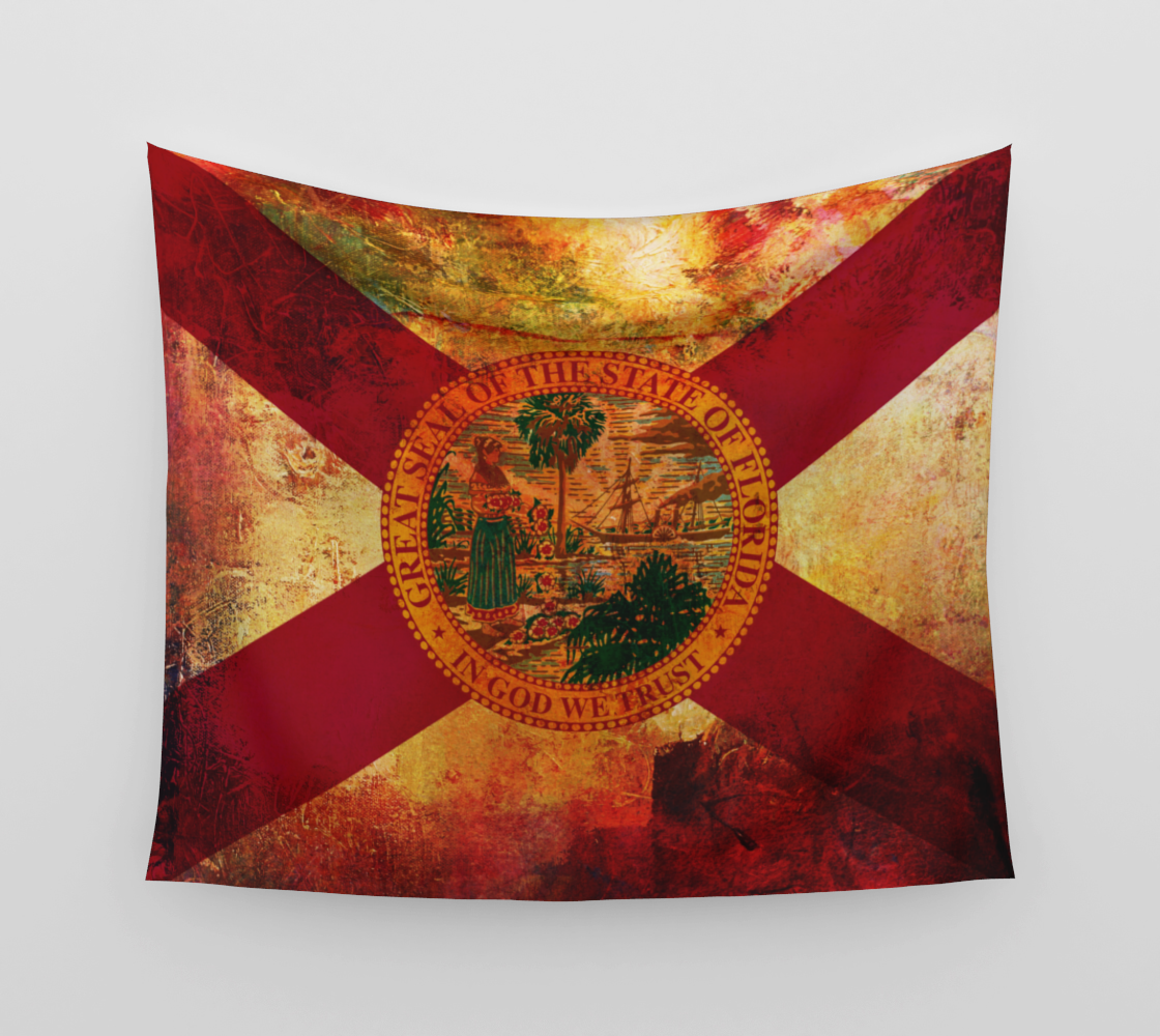 1923 Trading Co. - FL Flag Tapestry preview
