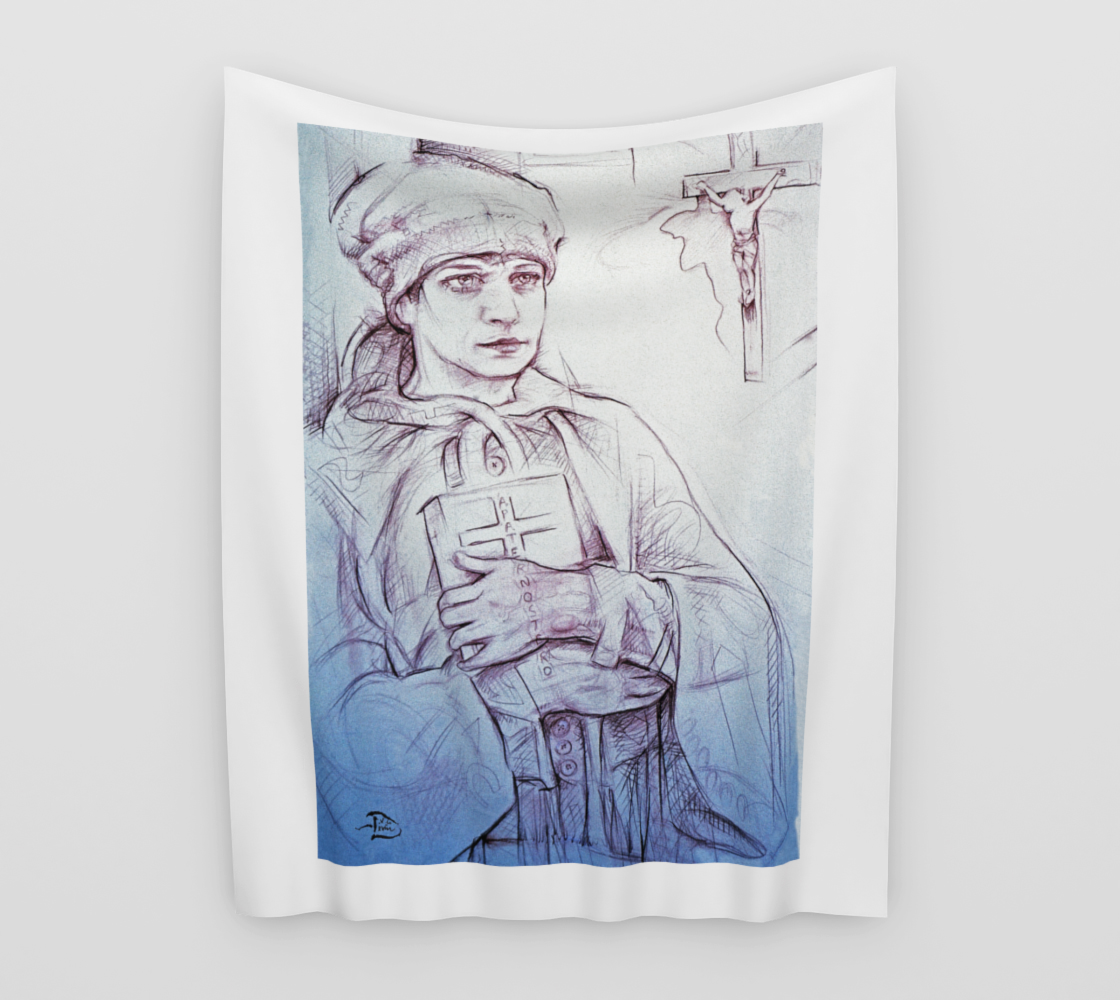 Vesting in The Sacristy / Devin Pin-Up Room Flag preview
