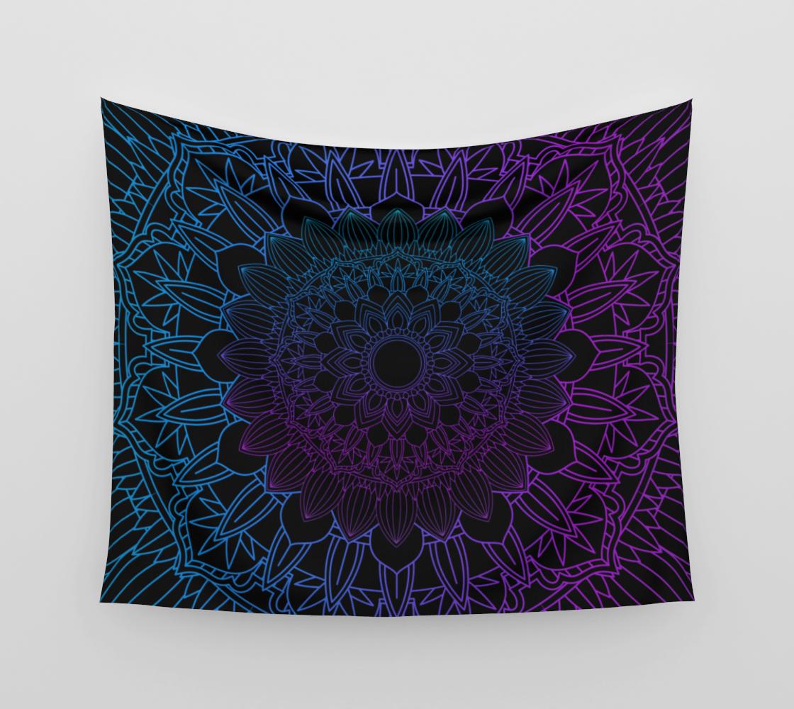 Mandala Blue y Purple preview