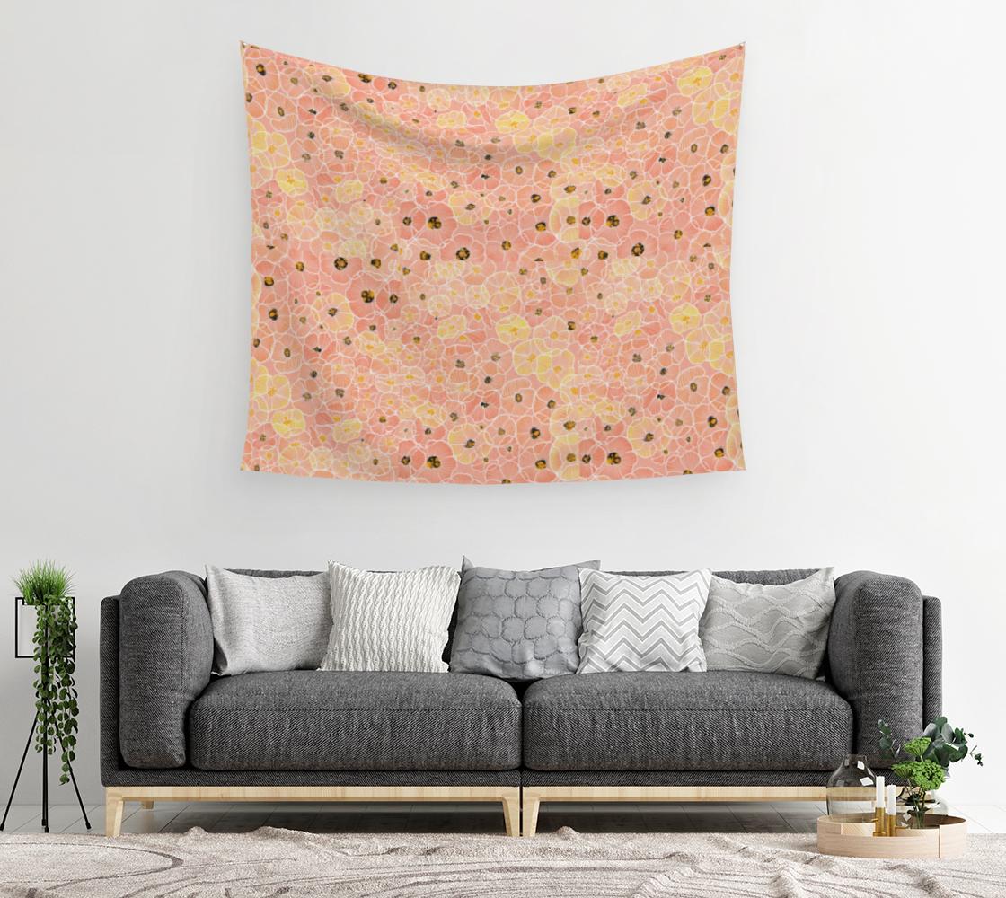 Aperçu de Poppy Wall Tapesty #2
