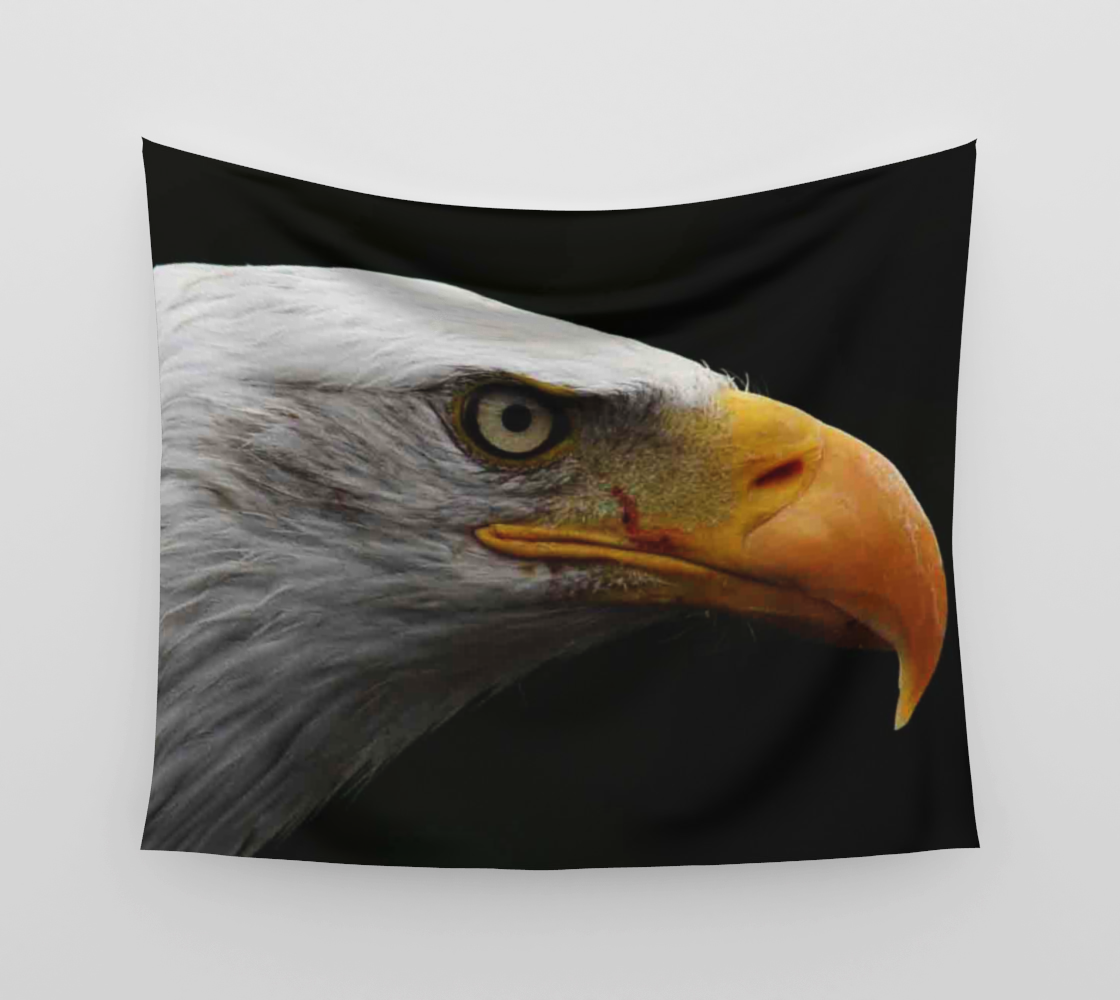 Bald Eagle Wall Tapestry preview #3