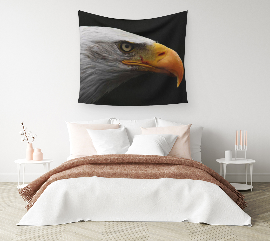 Bald Eagle Wall Tapestry preview #1