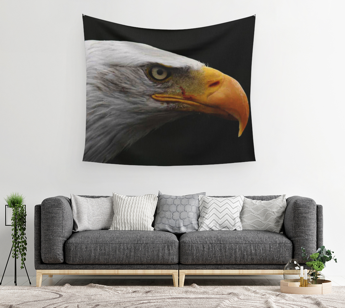 Bald Eagle Wall Tapestry preview #2