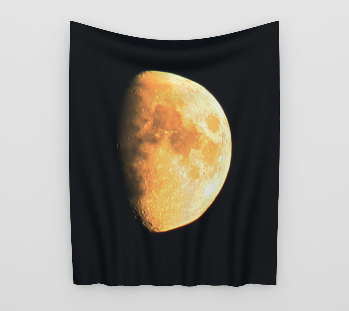 Big Old Moon Wall Tapestry preview #3