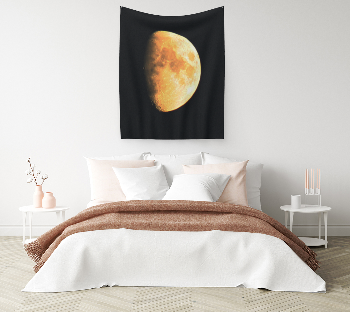 Big Old Moon Wall Tapestry preview #1