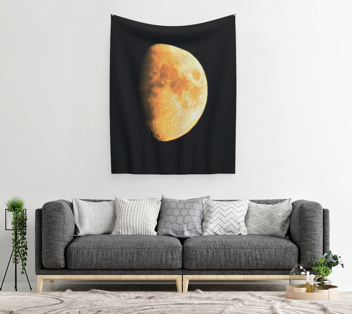 Big Old Moon Wall Tapestry preview #2