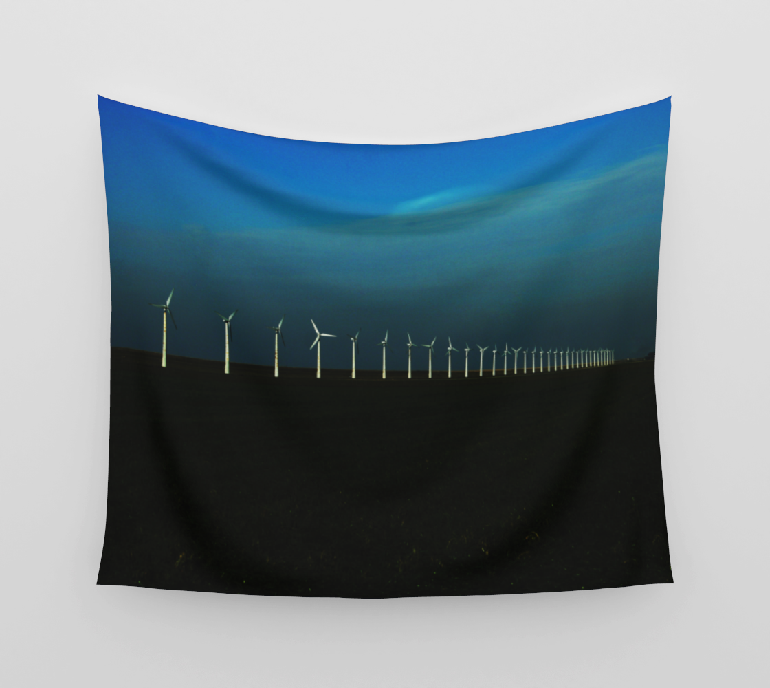 Windfarm Wall Tapestry preview