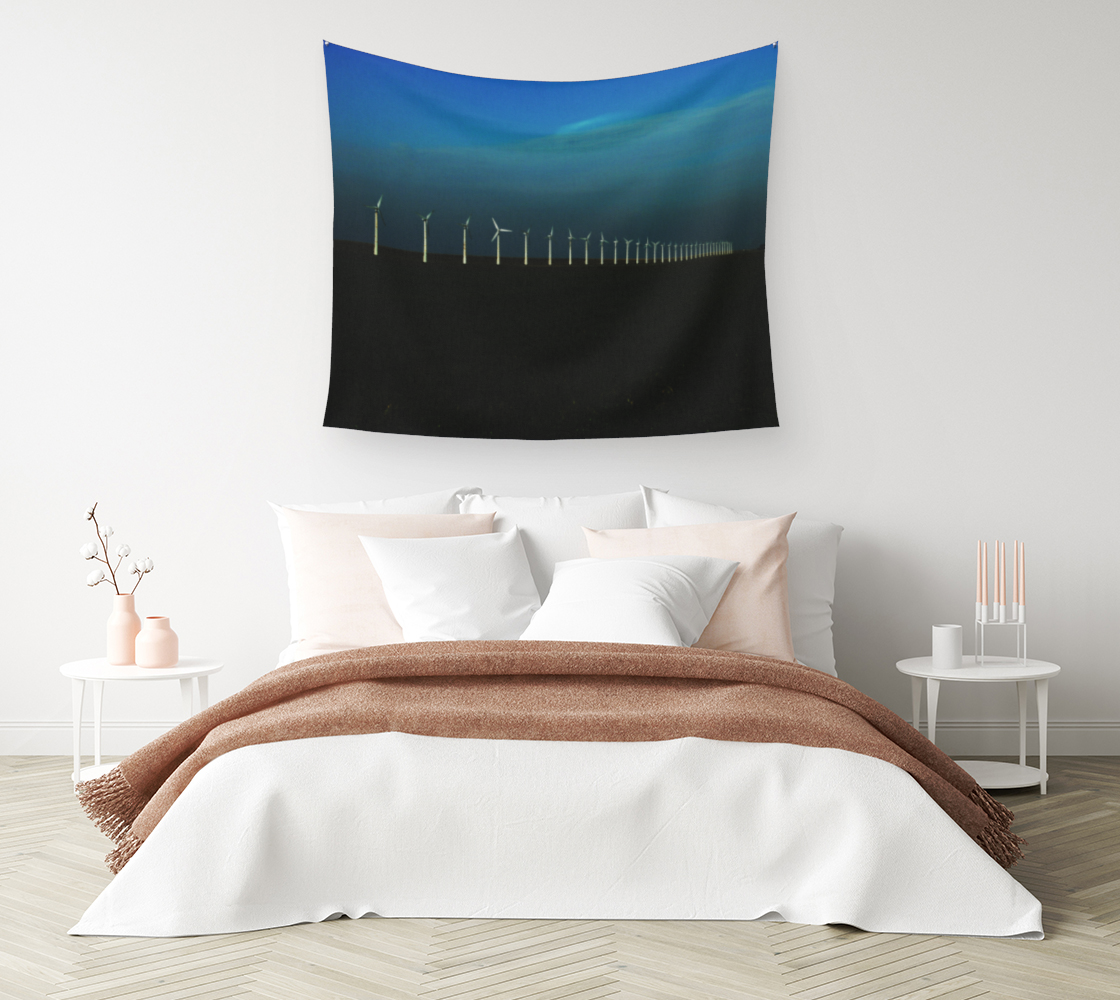 Windfarm Wall Tapestry preview #1