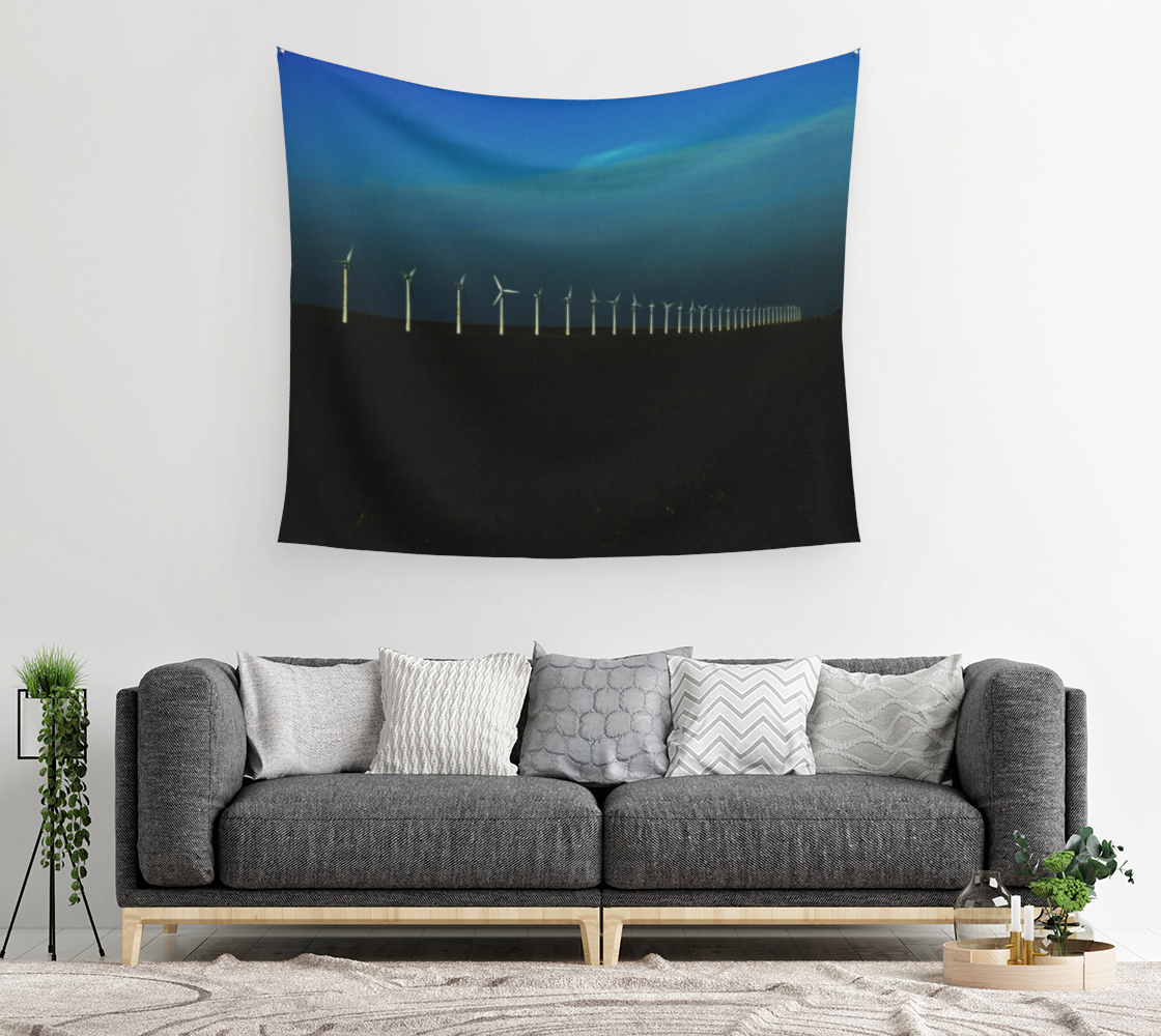 Windfarm Wall Tapestry preview #2