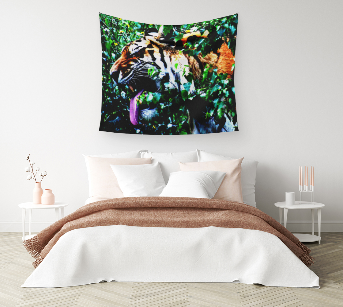 Amur Tiger Wall Tapestry preview #1