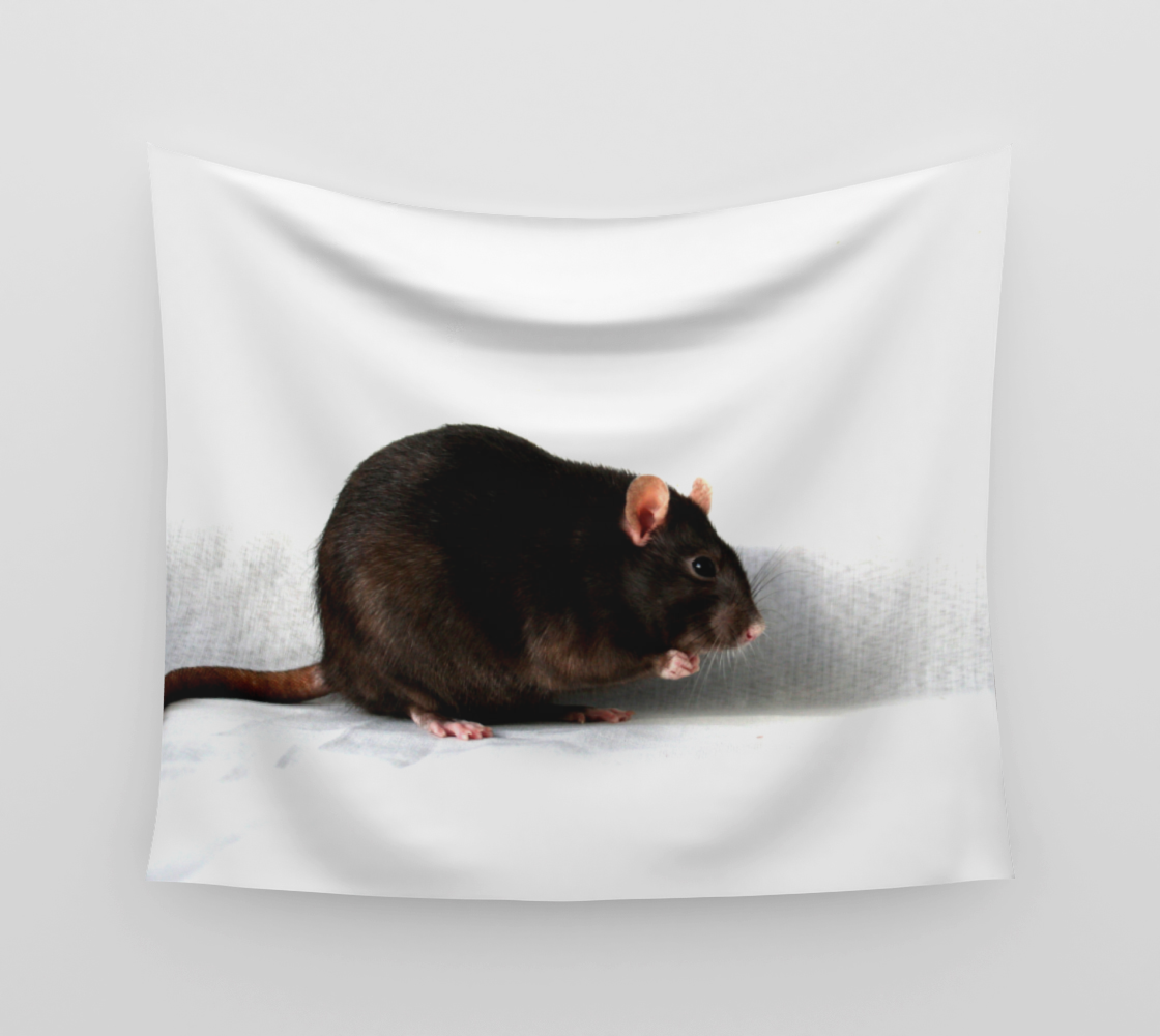 Rat Wall Tapestry preview