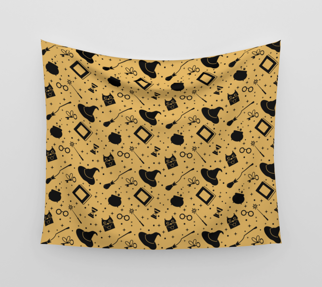 Magic symbols yellow aperçu