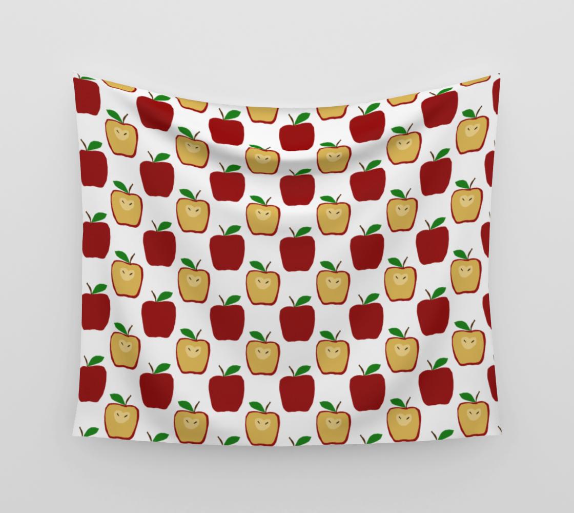 Apple Polkadots Tapestry aperçu