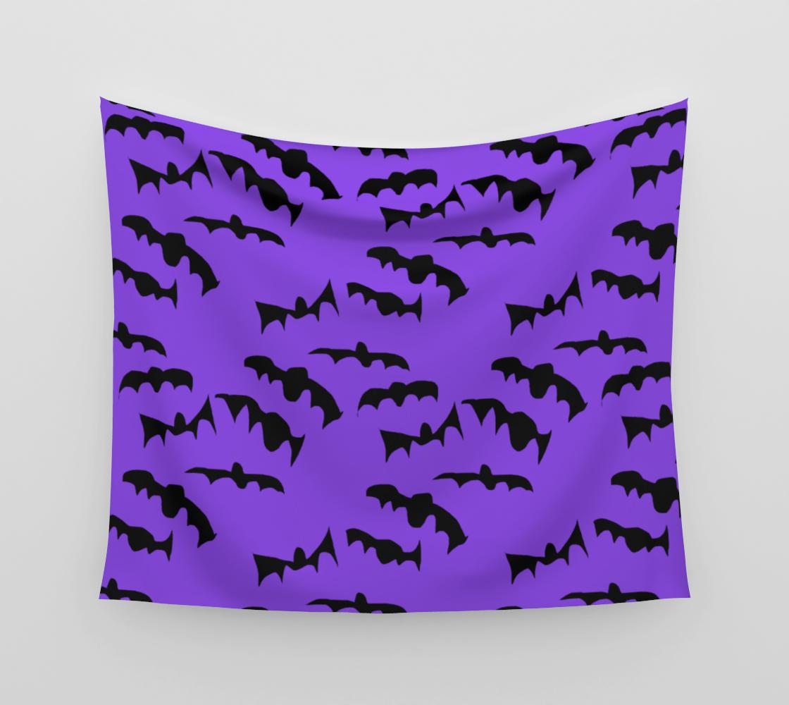 Bats Pattern Tapestry aperçu