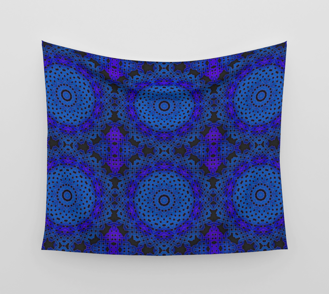 Blue Celtic Tapestry aperçu