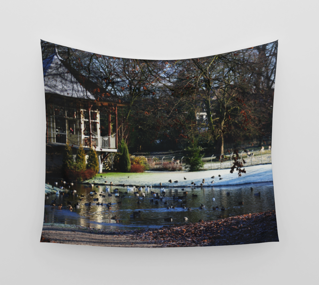 Rams Woerthe Teahouse Wall Tapestry preview
