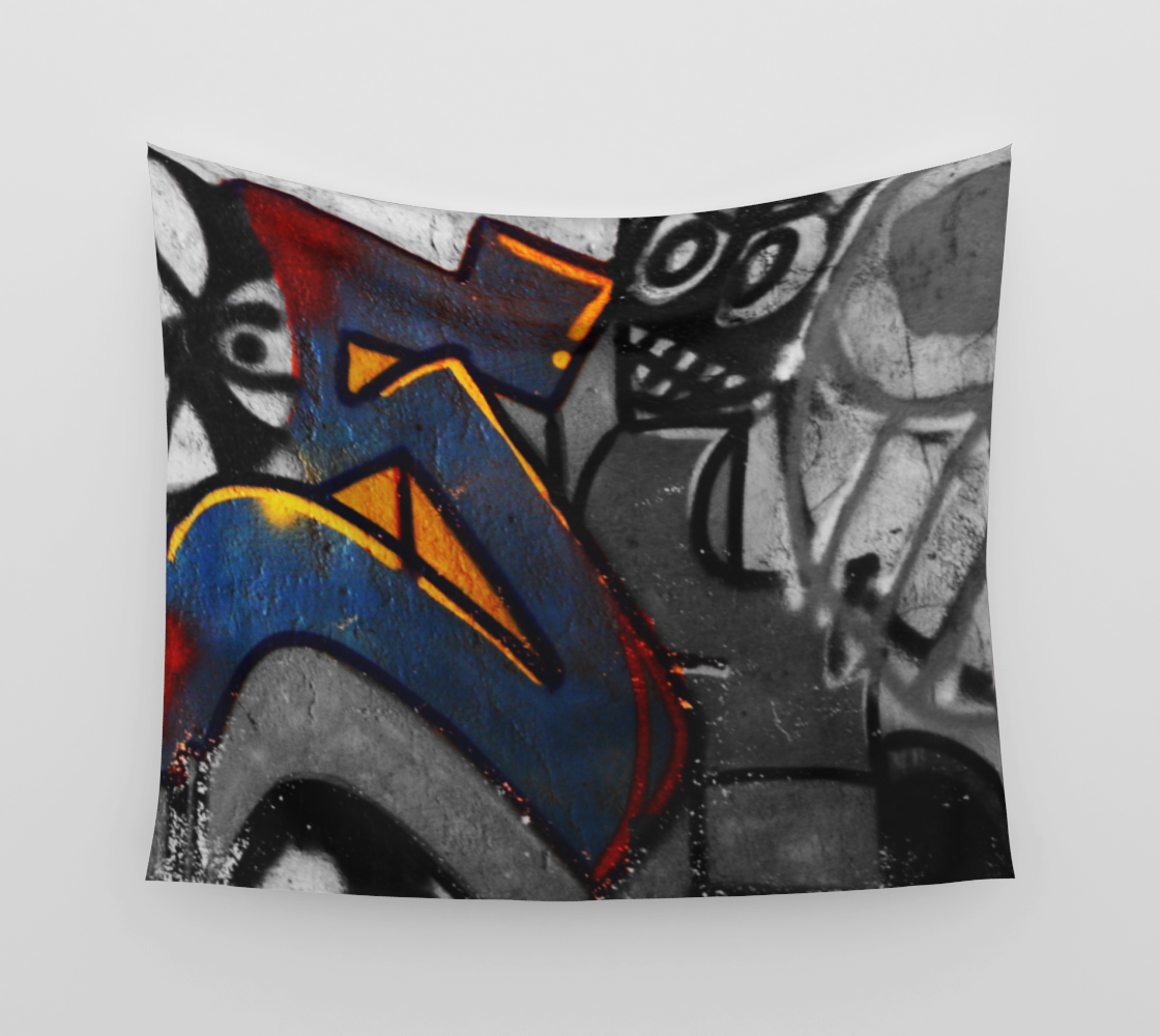 Graffiti 1 Wall Tapestry preview