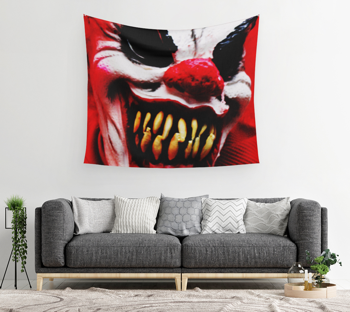 Clown 1 Wall Tapestry preview #2