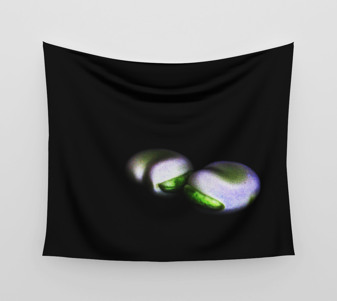 Two Broad Beans Wall Tapestry preview #3