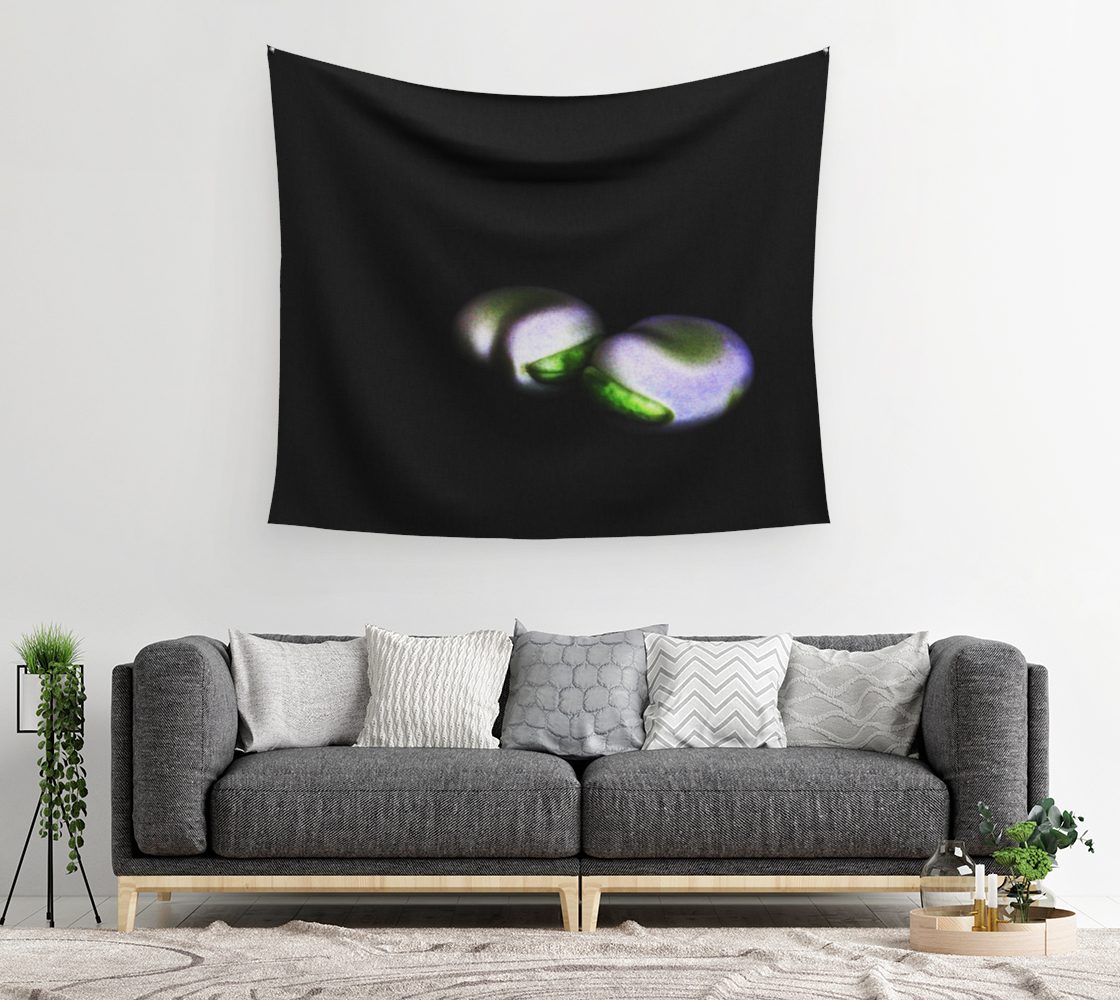 Two Broad Beans Wall Tapestry preview #2