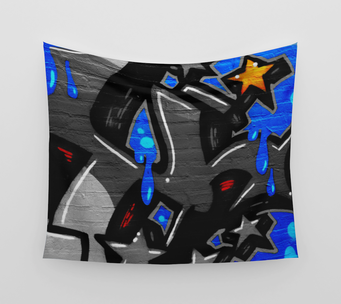 Graffiti 3 Wall Tapestry preview