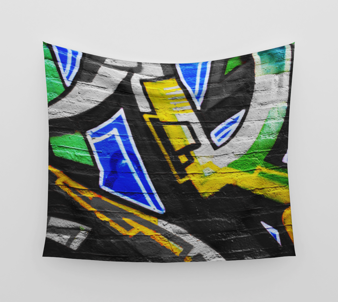 Graffiti 6 Wall Tapestry preview