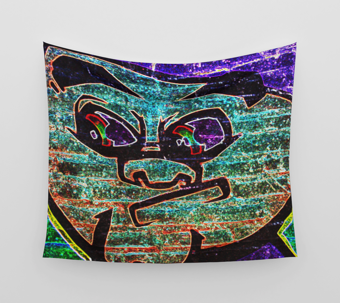 Graffiti 7 Wall Tapestry preview