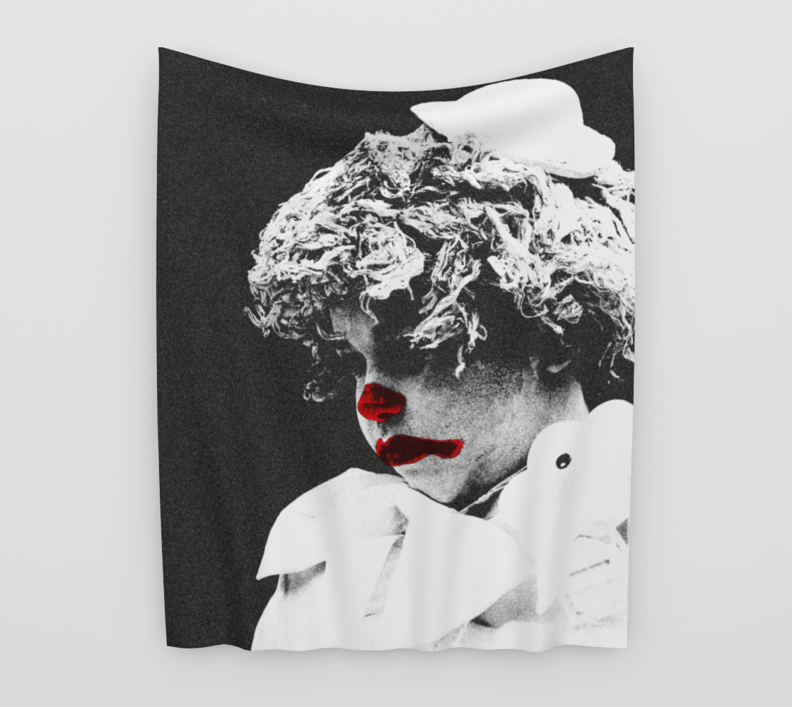 Clown 3 Wall Tapestry preview #3