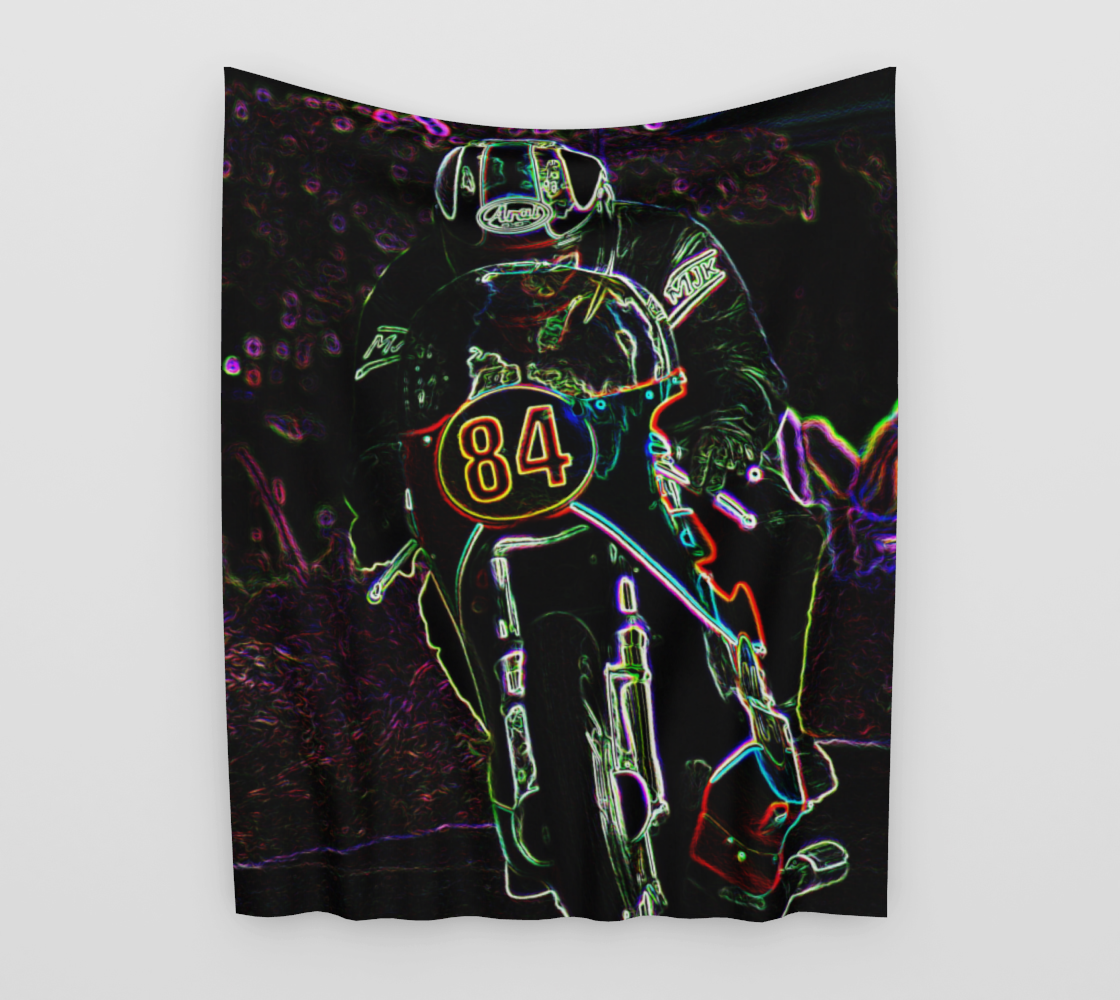 Motorcycle 2 Wall Tapestry preview