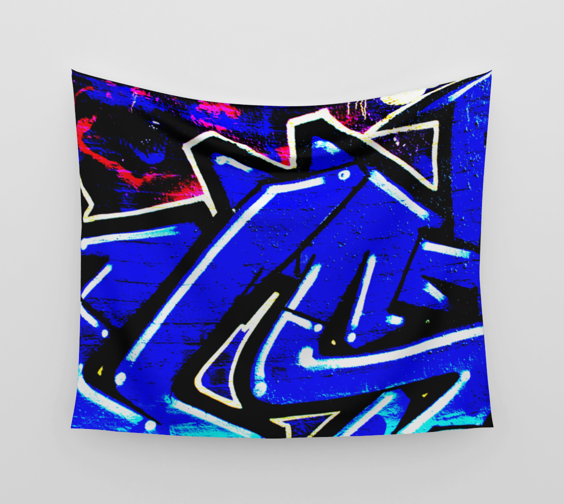 Graffiti 13 Wall Tapestry preview