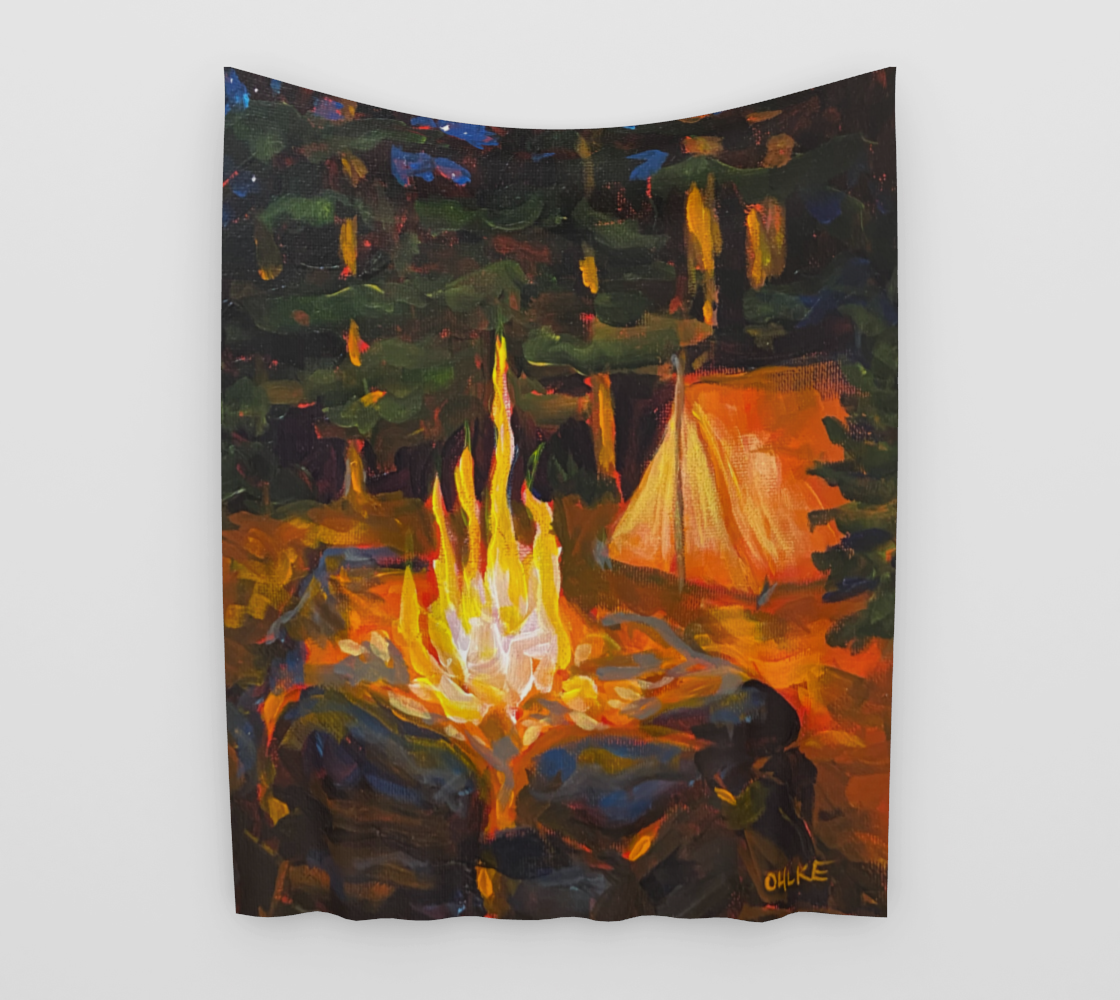 Artist's Camp Tapestry preview