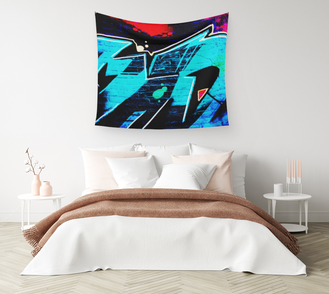 Graffiti 14 Wall Tapestry preview #1