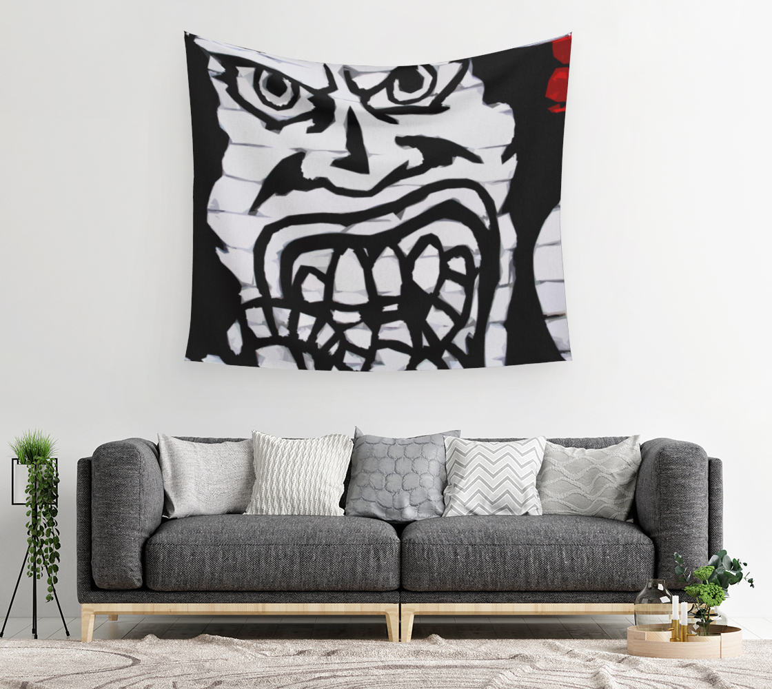 Graffiti 16 Wall Tapestry preview #2